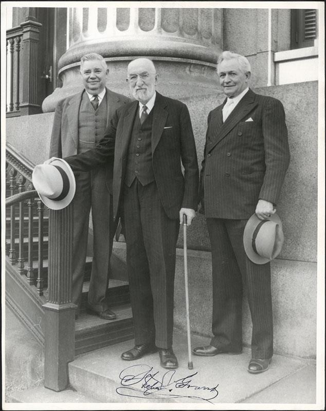 J Reuben Clark Mormon First Presidency
