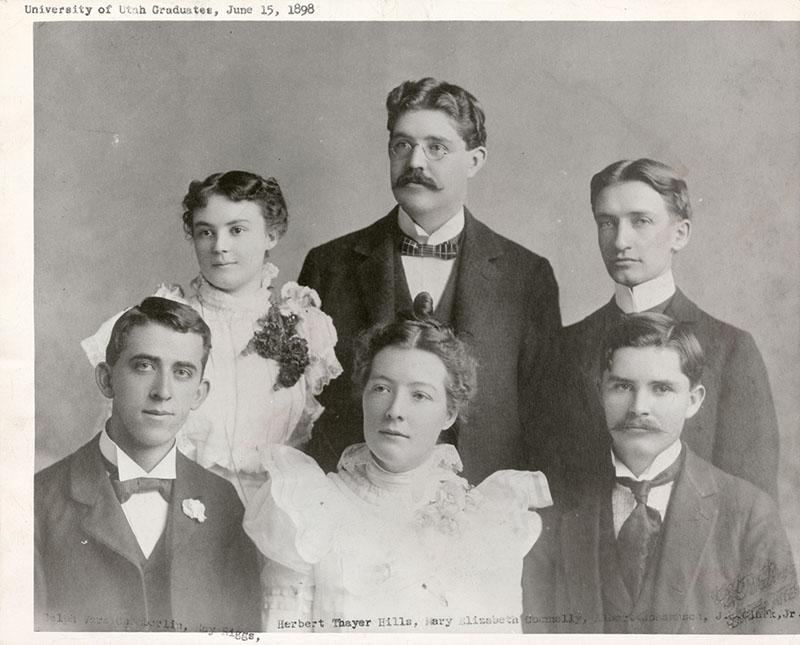 Mormon J Reuben Clark U of U Graduates 1898